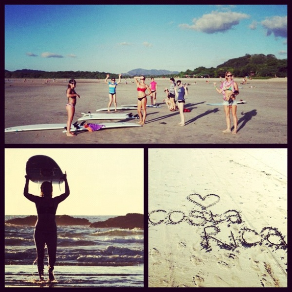 rica surf girls roadtrip